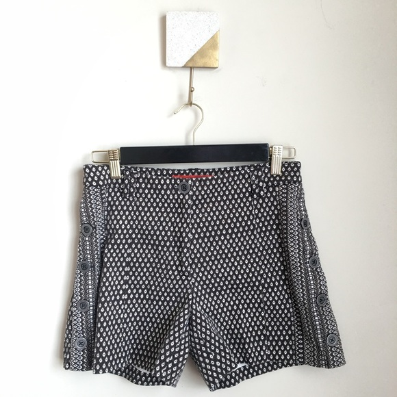 Anthropologie Pants - Anthro Cartonnier High Rise Side Button Shorts